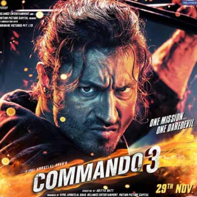 Commando 3 Box Office Collection Day 4: Vidyut Jammwal starrer holds well on its first Monday