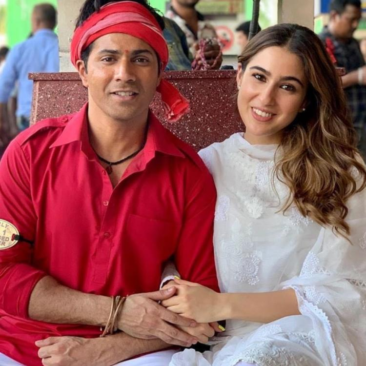 Coolie No 1: Sara Ali Khan, Varun Dhawan's cool photo from the sets has left us excited for the film