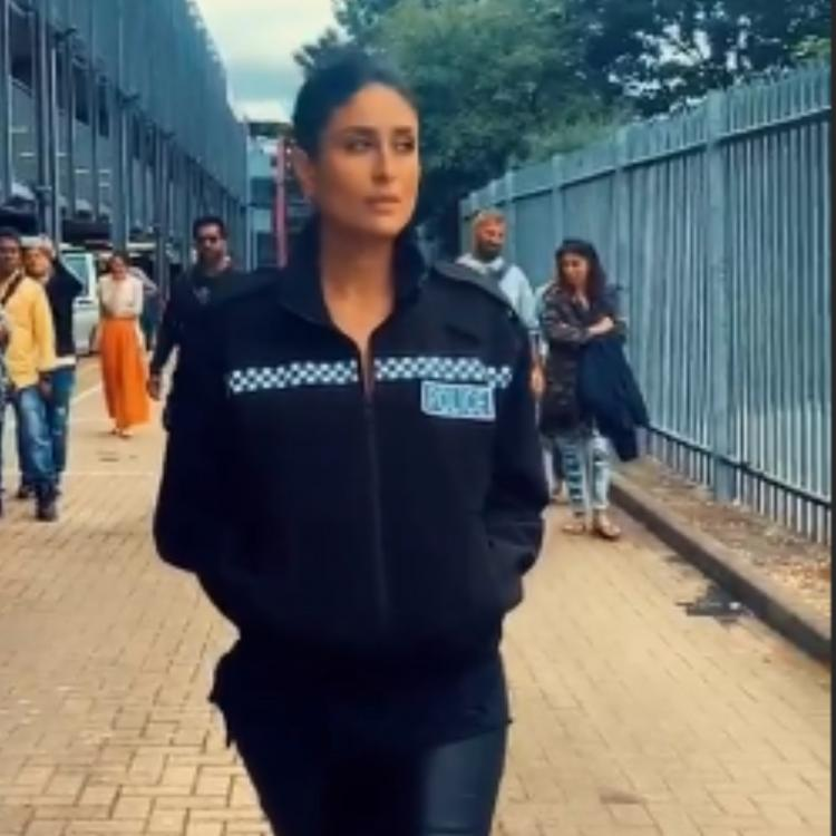 Kareena Kapoor Khan's cop walk on the sets of Angrezi Medium is proof why no one can do it like Bebo; WATCH