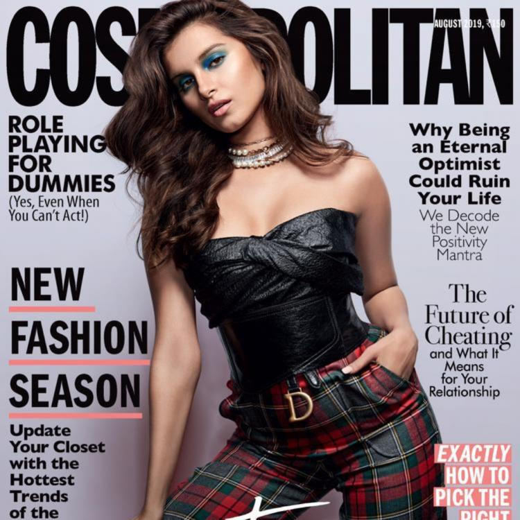 Tara Sutaria makes a bold statement on a cover of the magazine