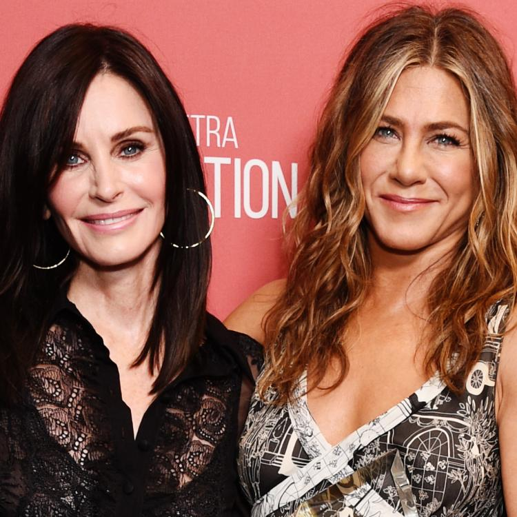 Courtney Cox on her Friends co star Jennifer Aniston: She inspires me every day