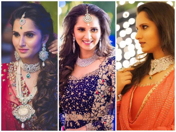 Like Every Excited Sister Who Is Decked Up And At Her Best For S Wedding Sania Mirza Too Went All Out Embraced The Fashionista In As