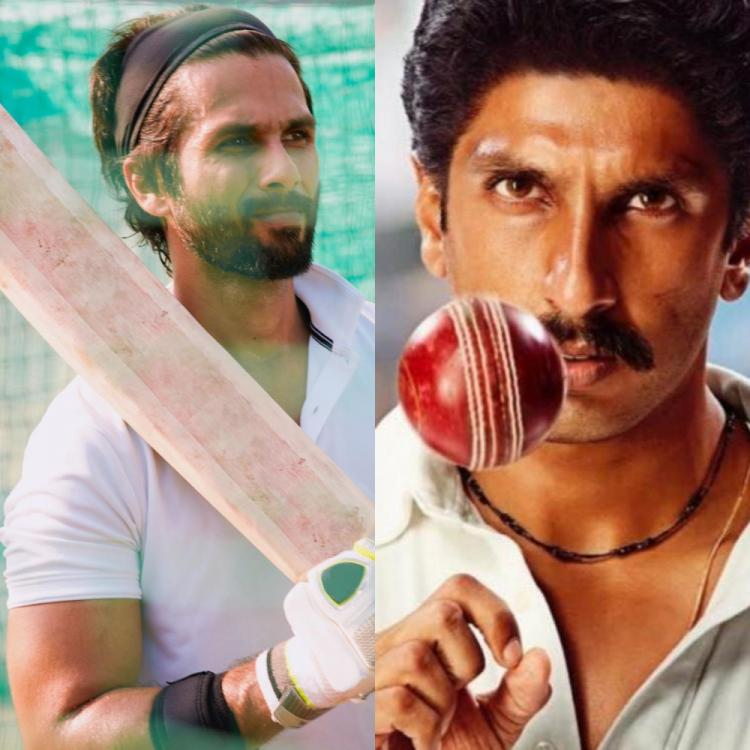 Shahid Kapoor to Ranveer Singh, films where B Town actors turned cricketers on screen