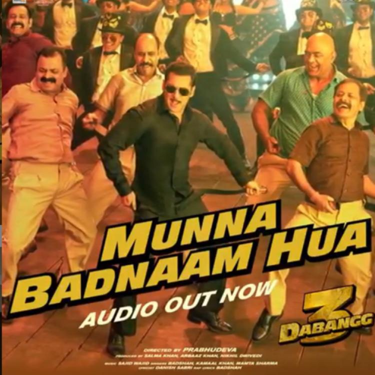 Dabangg 3 song Munna Badnaam Hua: Salman Khan is all set to make us groove to the catchy number