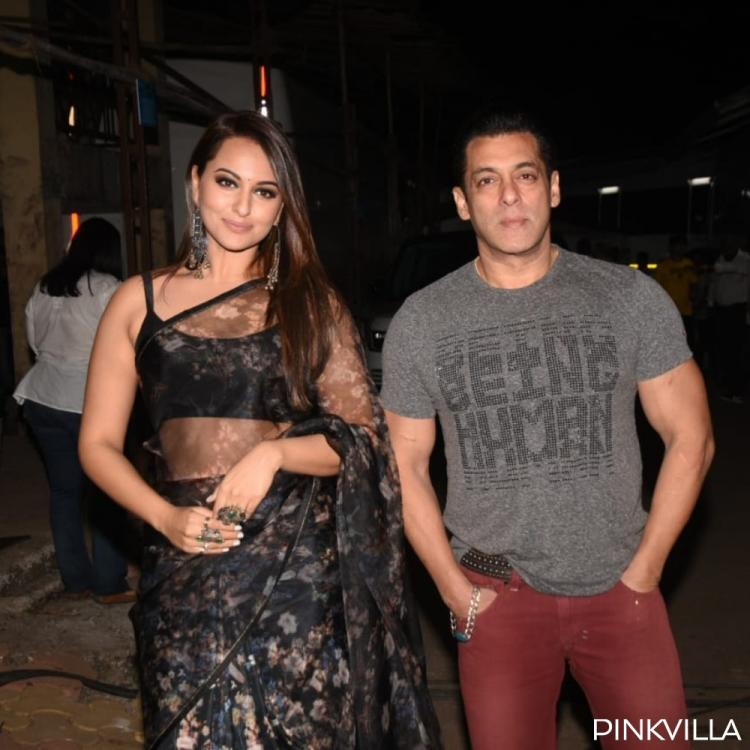 PICS: Salman Khan, Sonakshi Sinha & others arrive on the sets of The Kapil Sharma Show for promoting Dabanng 3