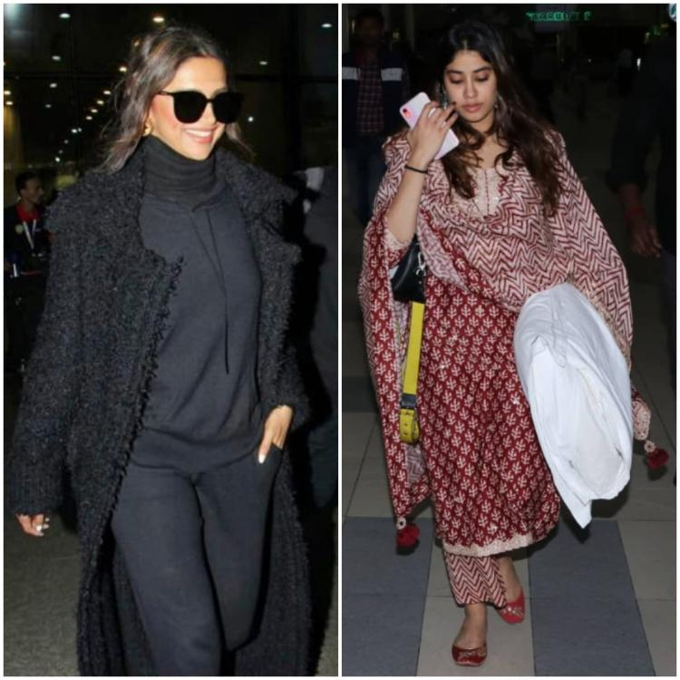 Deepika Padukone to Janhvi Kapoor; Here are all the looks from yesterday that are worth a glimpse