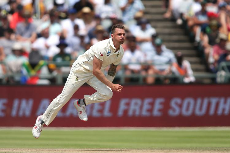 Kane Williamson posts picture of abdomen guard cracked by Dale Steyn on Instagram