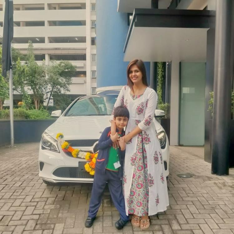 Bigg Boss Season 13: Dalljiet Kaur begins a new journey as she brings a white beauty home; Check it out