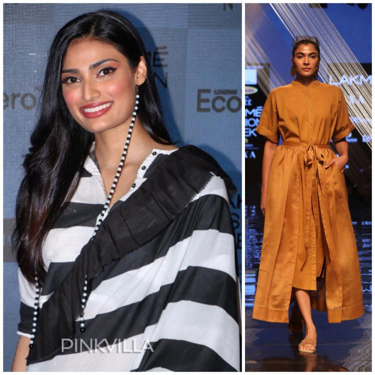 Lakme Fashion Week Day 2: Athiya Shetty turned muse for A&T while sustainable clothing got a trendy twist