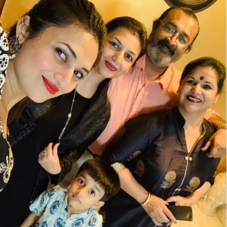 Divyanka Tripathi is a bundle of joy as she shares a PIC with her family members; check it out
