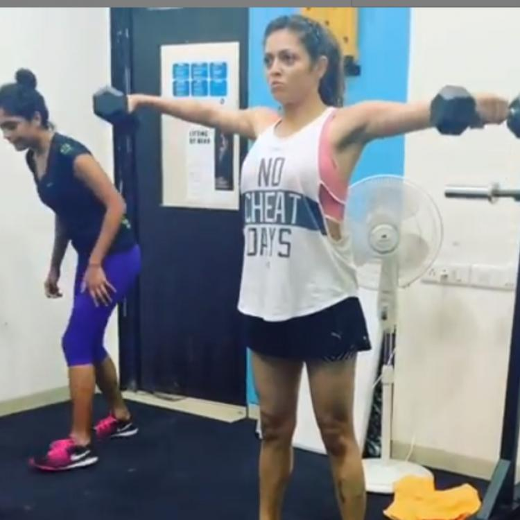 Drashti Dhami kick starts her week right with the beast mode on; watch VIDEO