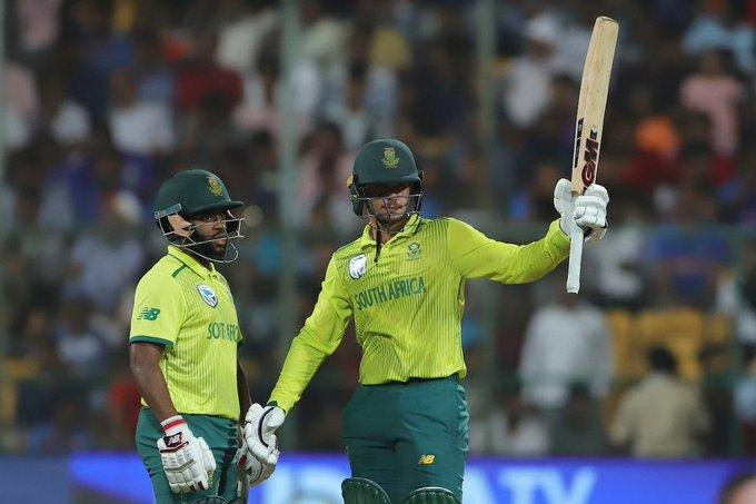 India vs South Africa 3rd T20I: Qunton de Kock's half century helps proteas level series 1-1