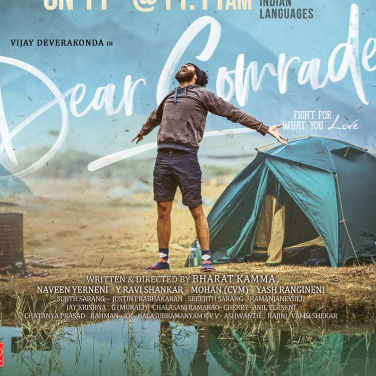 Dear Comrade: Vijay Deverakonda increases his fans curiosity as he announces trailer release details