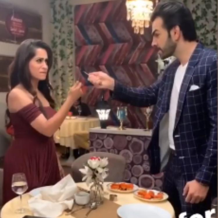 Kahaan Hum Kahaan Tum's Dipika Kakar & Karan V Grover are at their quirky best in THIS video; Watch