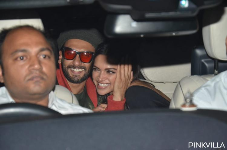 PHOTOS: Deepika Padukone and Ranveer Singh can't get enough of each other post Gully Boy's Screening
