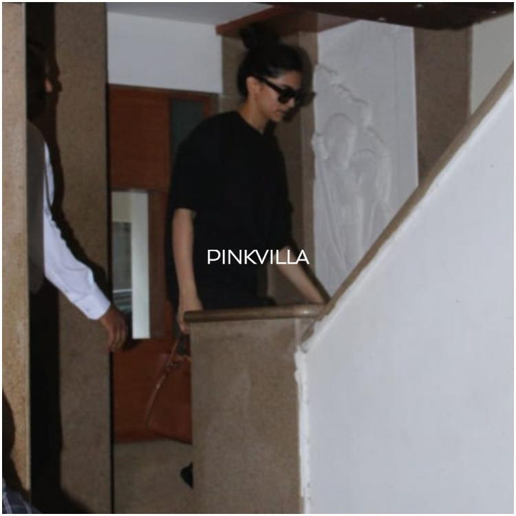 PHOTOS: Deepika Padukone's all black look as she steps out proves one can never go wrong with the classics