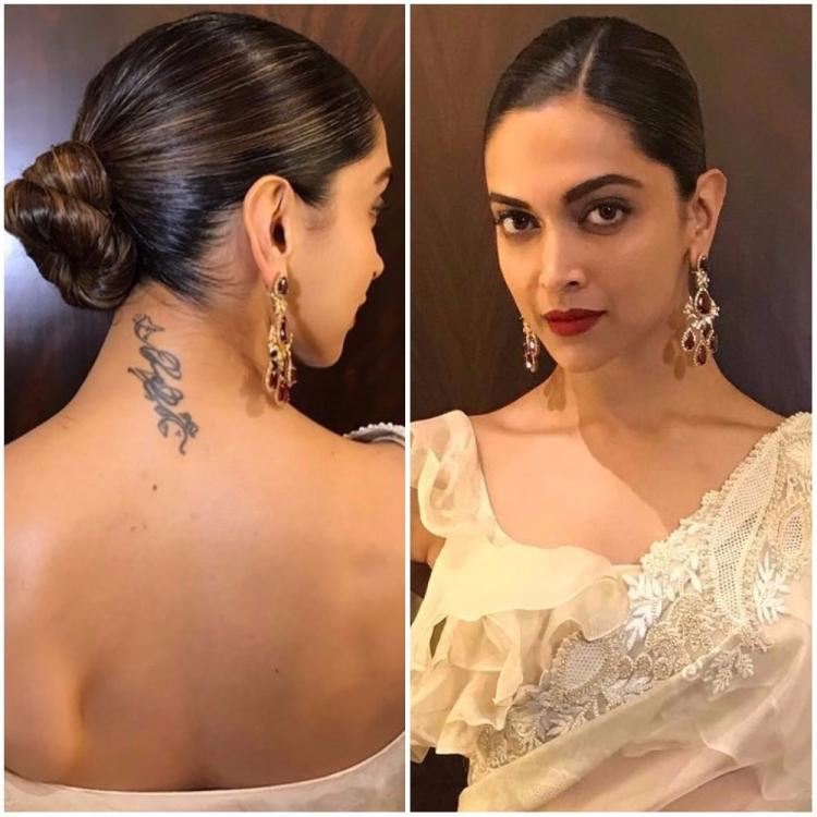 Deepika Padukones Hairstylist Gives A Step By Step Breakdown Of - Bun hairstyle of deepika padukone