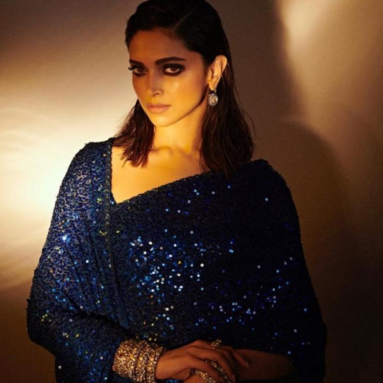 Deepika Padukone's Sabyasachi sequin saree is perfect for a Cocktail party; Yay or Nay?