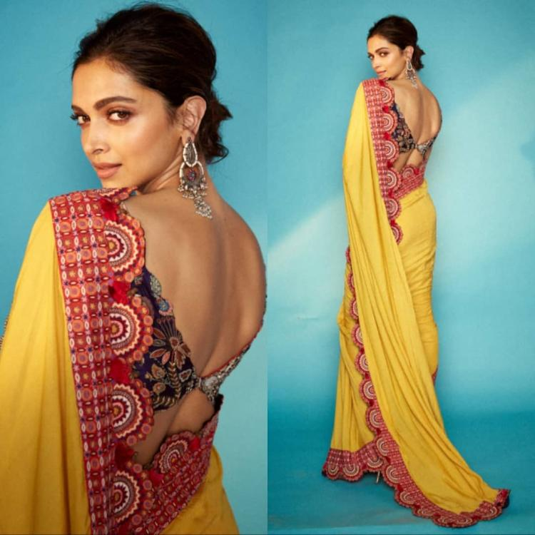 Deepika Padukone's Anamika Khanna saree is a WINNER & you need this piece in your wardrobe like NOW