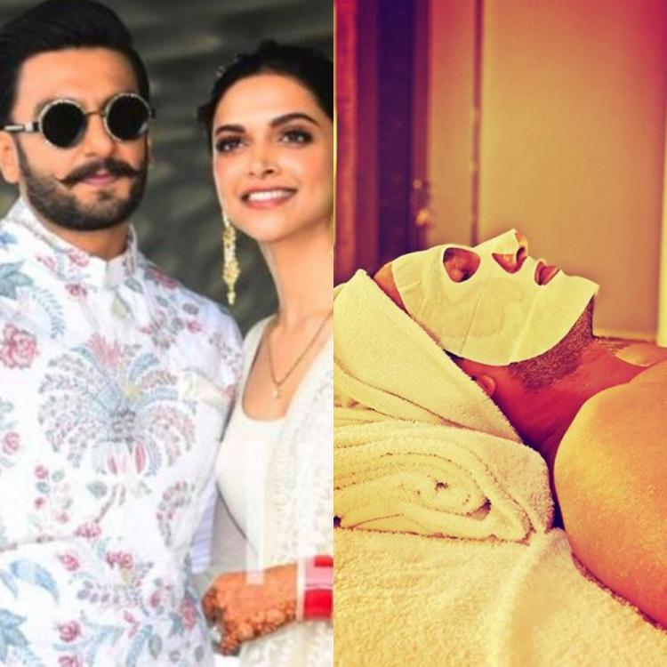 Deepika Padukone shares how 'Cleopatra' Ranveer Singh pampers himself; He says 'You're the reason for my glow'