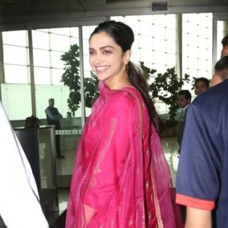 Watch: Deepika Padukone shows her concern for the paparazzi while getting snapped at the airport