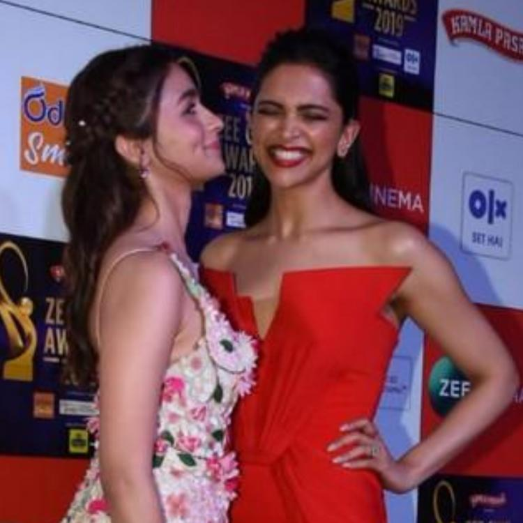 Deepika Padukone and Alia Bhatt's photos from an awards show last year are proof that they are potential BFFs
