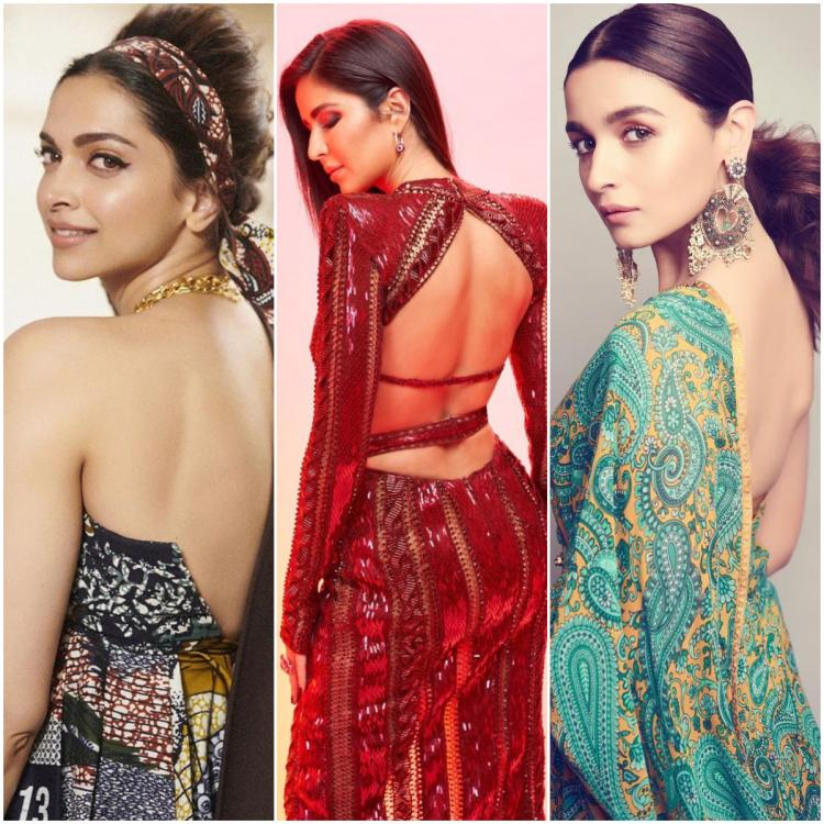 Deepika Padukone, Katrina Kaif, Alia Bhatt & more give backless outfits their approval this party season
