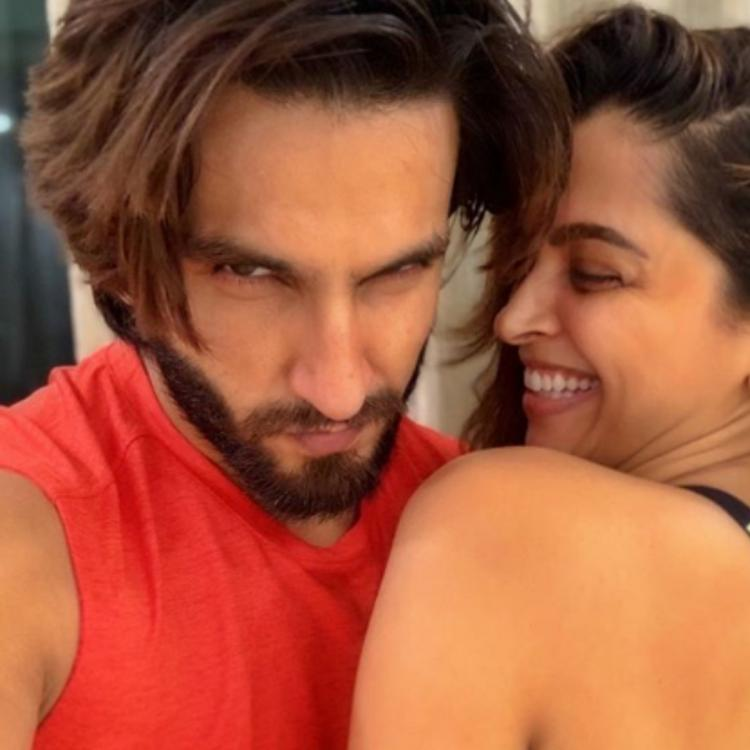 Deepika Padukone calling Ranveer Singh a 'snack' in their photo from working out together is adorable