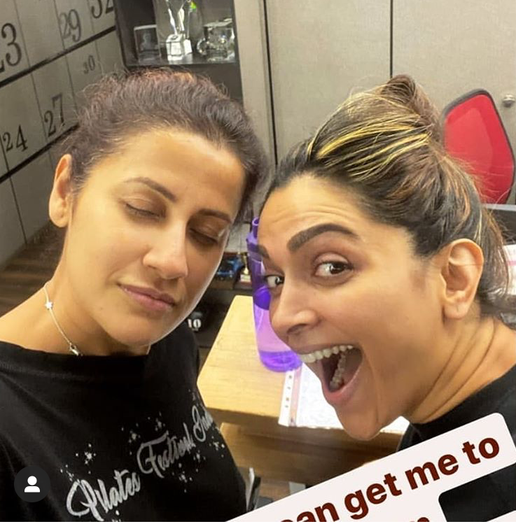 Deepika Padukone's post workout selfie with her trainer is all the motivation you need to hit the gym; See pic