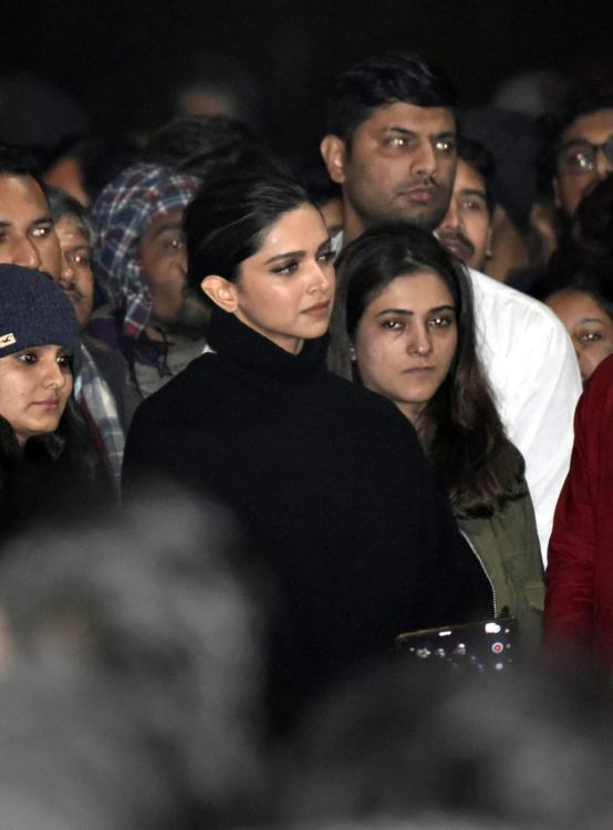Deepika Padukone talks about the ongoing protests: I said what I ...