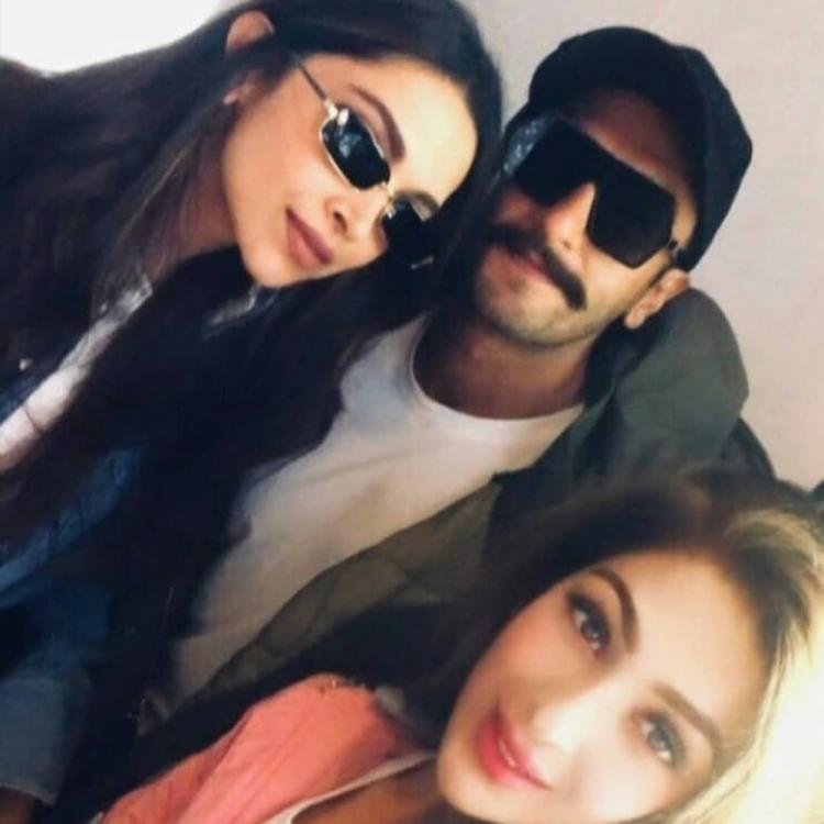 Deepika Padukone and Ranveer Singh oblige a fan with a selfie in London amidst '83 shoot; Check it out