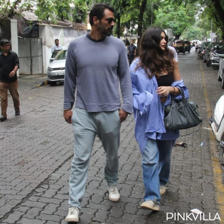 PHOTOS: Arjun Rampal and Gabriella Demetriades get papped as they step out in the city