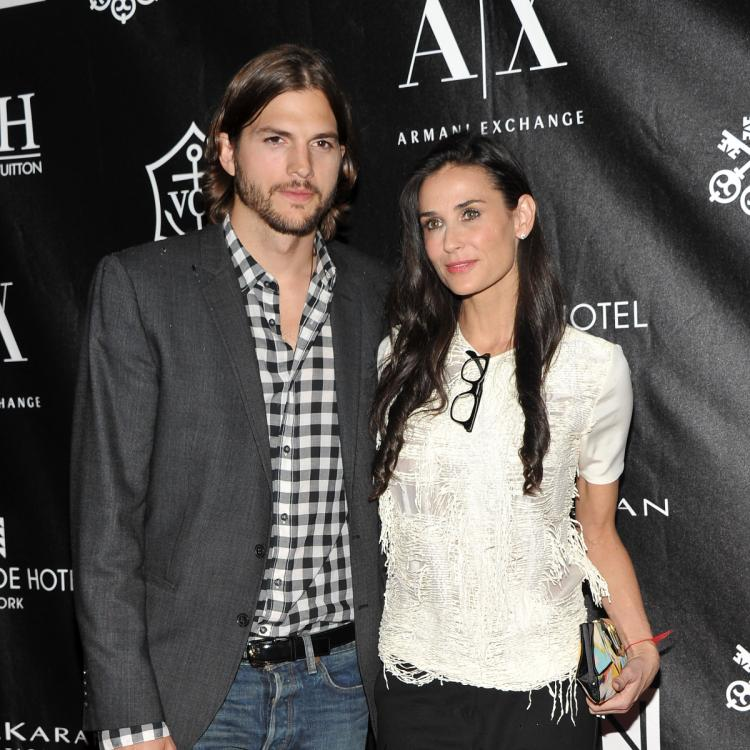 Demi Moore reveals Ashton Kutcher CHEATED on her with 2 women in a bathtub; Shares deets on miscarriage too