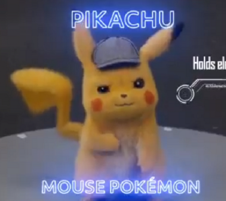 Ryan Reynolds shares his 'audition' video for Detective Pikachu; also shows clips of Jigglypuff & others