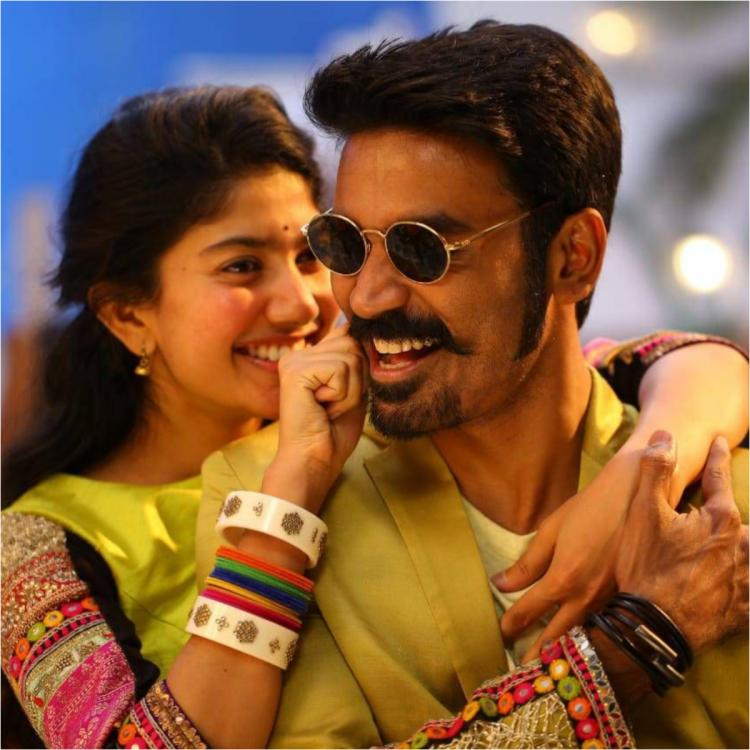 Dhanush and Sai Pallavi's song Rowdy Baby from Maari 2 sets a huge record yet again