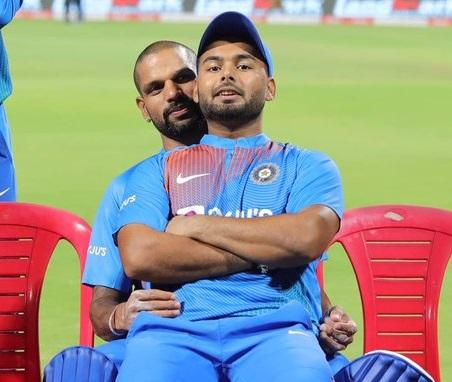 I don't love guys that much: Shikhar Dhawan's reply on his viral pic with Rishabh Pant
