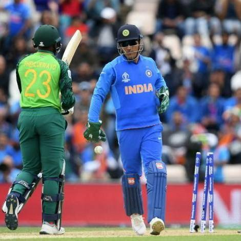 India vs Australia, World Cup 2019: Fans flaunt Balidaan Badge at Oval in support of MS Dhoni