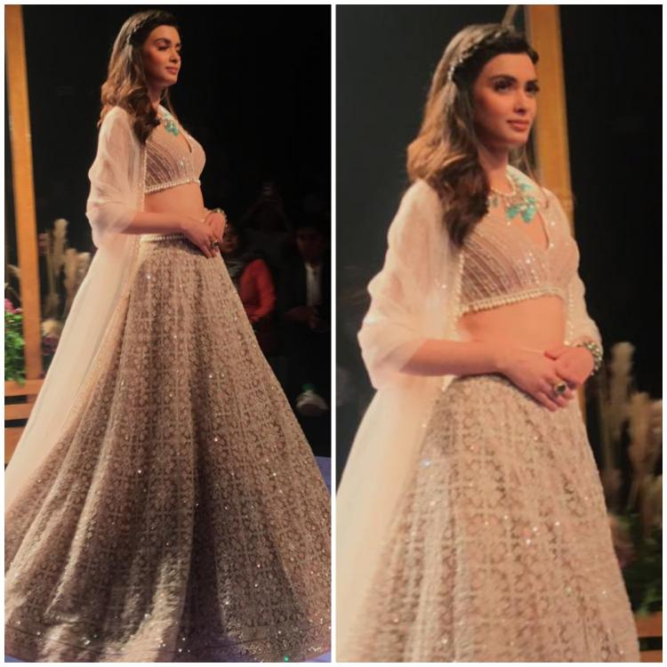 Diana Penty is a sight to behold as she walks the ramp for Ridhi Mehra at LFW 2019