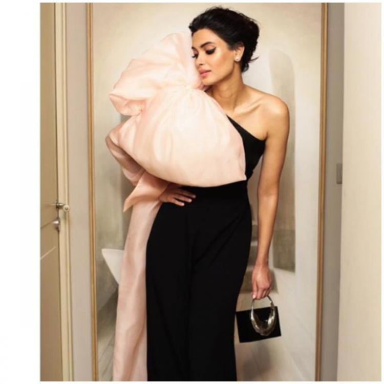 Cannes 2019: Diana Penty takes inspiration from Deepika Padukone's red carpet look; flaunts an oversize bow