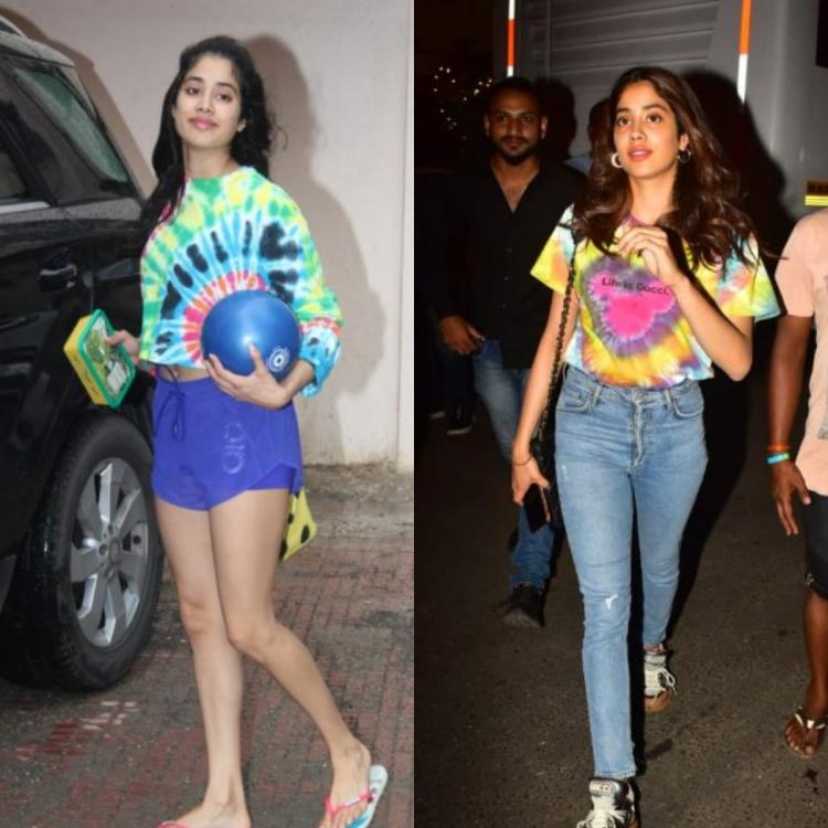 Did you know Janhvi Kapoor has a thing for tie dye tops? Here's proof