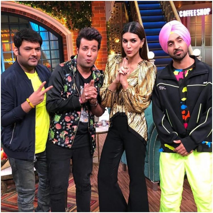 Kapil Sharma makes fun of Diljit Dosanjh as he asks the Arjun Patiala star about shooting with Sunny Leone