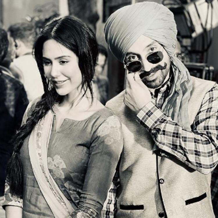 Sonam Bajwa and Diljit Dosanjh make a perfect onscreen pair and THIS picture is a proof