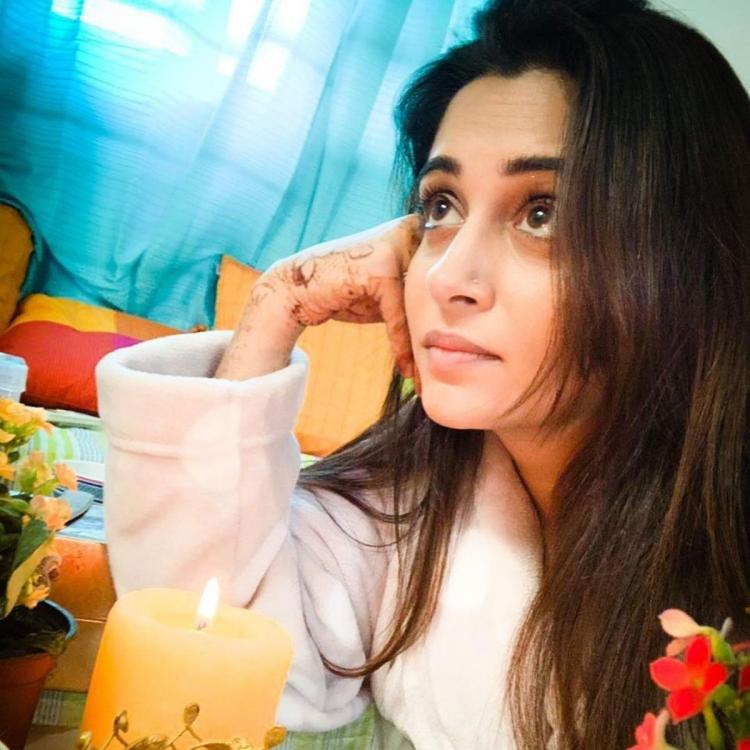 PHOTO: Kahaan Hum Kahaan Tum's Dipika Kakar relaxes in the 'warmth of her space'; Check it out