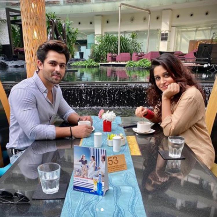 PHOTOS: Dipika Kakar goes on a romantic 'tea' date with husband Shoaib Ibrahim; Check it out