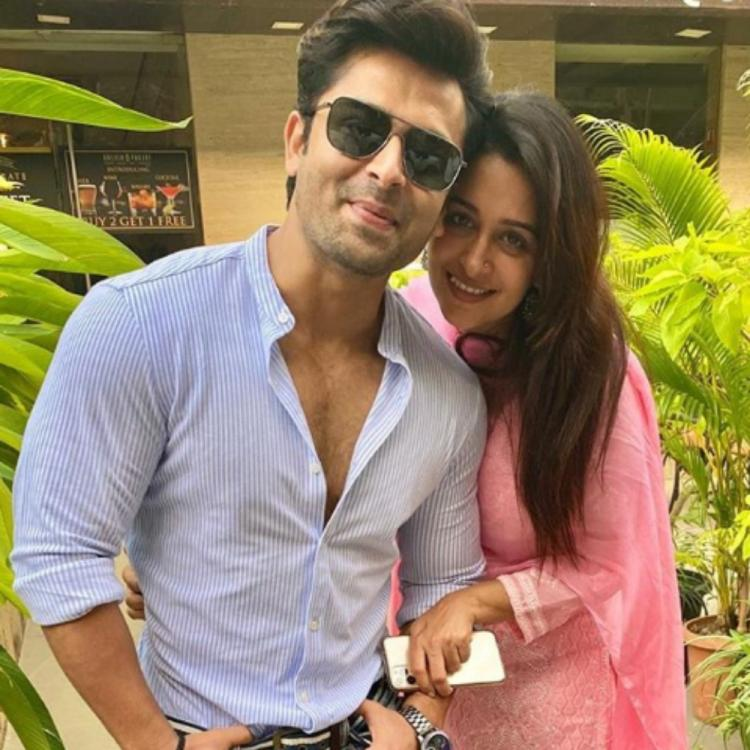 Kahaan Hum Kahaan Tum's Dipika Kakar shares a lovey dovey PHOTO with Shoaib Ibrahim and we are all hearts