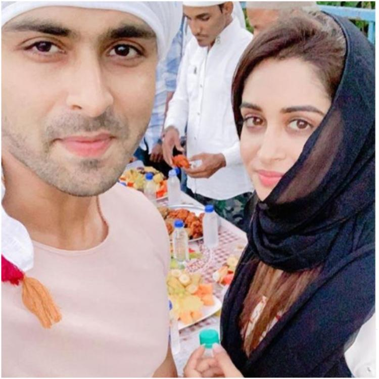 Dipika Kakar shares an adorable picture from Iftaari as she poses with husband Shoaib Ibrahim; view PIC