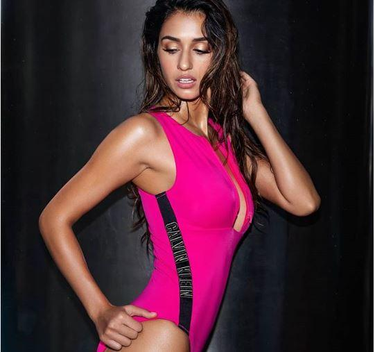 Disha Patani shares a sizzling hot picture in a bikini and Tiger Shroff can't help but agree