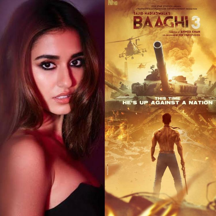 Baaghi 3: Disha Patani is in awe of Tiger Shroff's look from the film and so are we