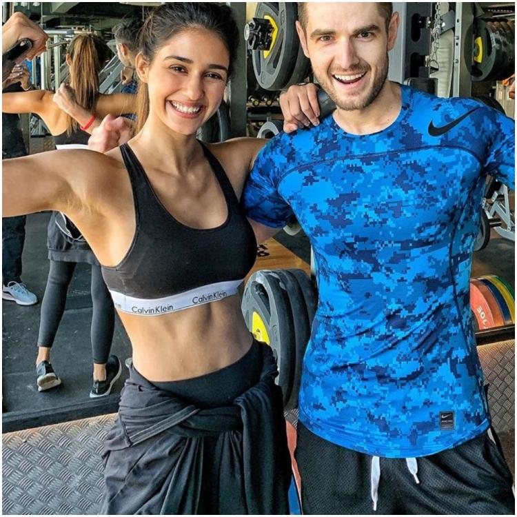 Disha Patani is overjoyed as she shows off her biceps and chiselled abs in her latest photo; Check it out