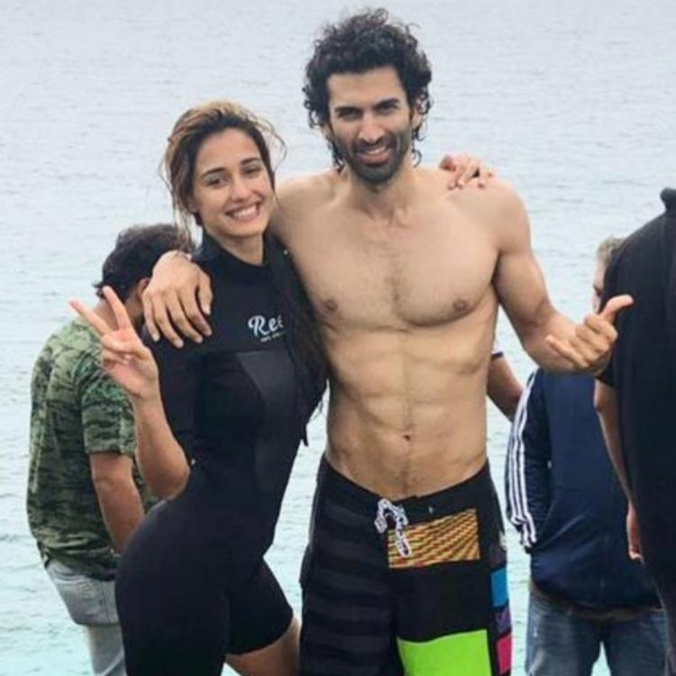 Disha Patani and her Malang co star Aditya Roy Kapur have a gala time with IG filters; Watch